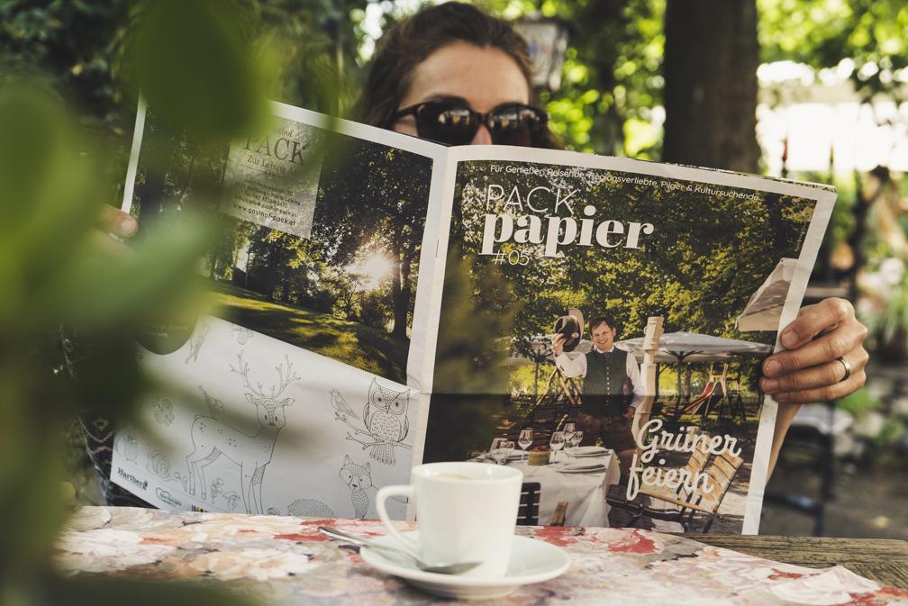 Packpapier_Magazin vom Gasthhof Pack