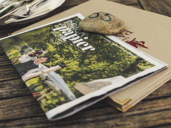 Packpapier_Magazin vom Gasthof Pack